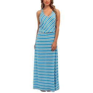 Michael Stars Stripe Maxi Dress w/ Twist Back